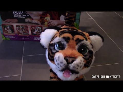 Hasbro - FurReal Friends, Tyler der Königstiger, elektronisches Haustier