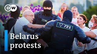 Belarus opposition candidate Tikhanovskaya flees to Lithuania   DW News