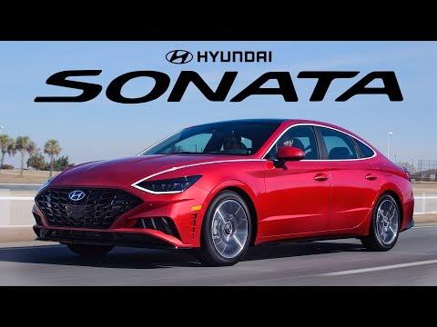 External Review Video 7oewp0M2BhE for Hyundai Sonata & Sonata Hybrid Mid-Size Sedan (8th-gen, DN8, 2020)