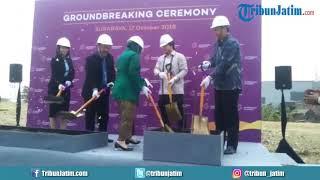 Ground Breaking Ceremony Sampoerna Academy Surabaya Diresmikan Wali Kota Tri Rismaharini