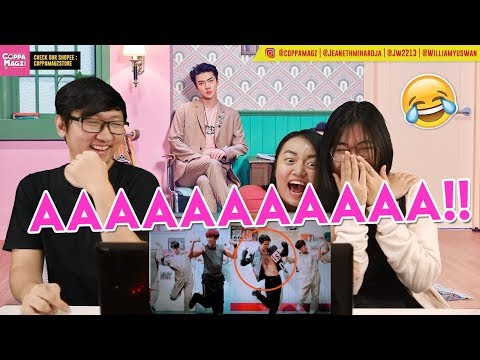 찬열 (CHANYEOL) X 세훈 (SEHUN) 'We Young' MV Reaction [CHANHUN OMGGGGGGGG]