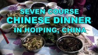 7 Recipes For Chinese Dinner  (Traditional Chinese Cooking In Hoiping, China)