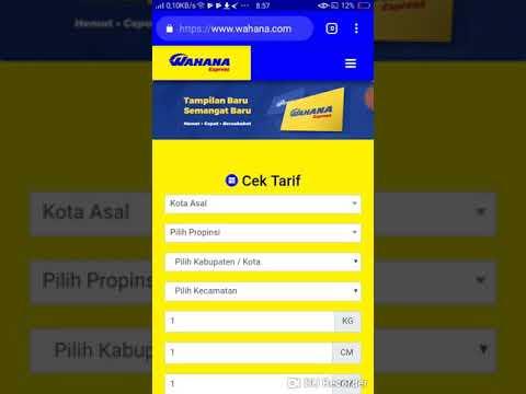 Tata cara / Prosedur komplain barang di Wahana Express