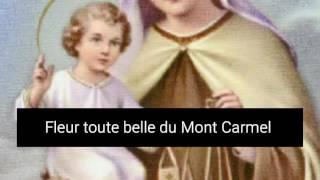 Prière Infaillible à La Très Sainte Vierge Marie  ND Du Mont Carmel