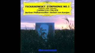 "Tchaikovsky - Symphony No.3 D major Op.29 ""Polish"" Karajan Berlin Philharmonic"