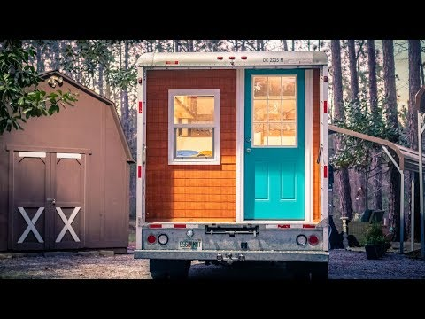 From Box Truck to Tiny House - Full Build Time-lapse