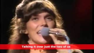 'We've Only Just Begun' by Karen Carpenter Music Video with Lyrics