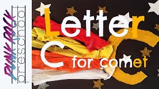 Letter C For Comet | Best Letter Crafts For Kids | Fun ABC Activities For Preschool