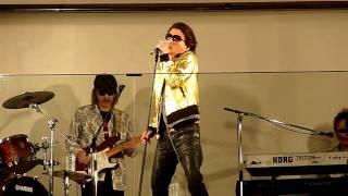 HD甲斐バンド「目線を上げて」新橋駅前ストリートライブ4/5
