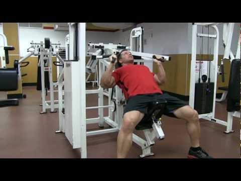 Gunner Grip Machine Incline Chest Press