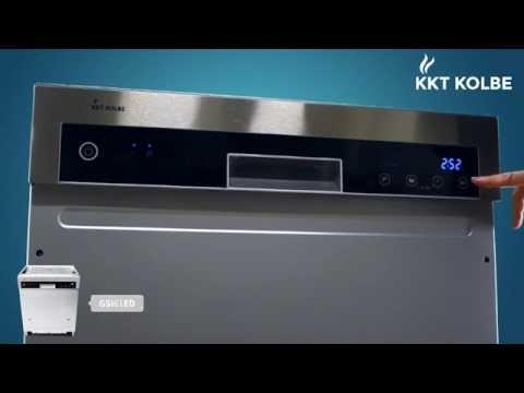 KKT KOLBE Produkt-Check: Geschirrspüler teilintegrierbar GSI61ED