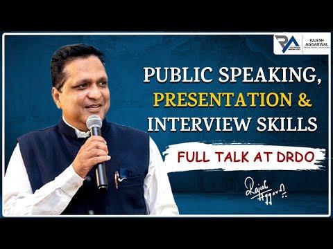 Full workshop on Public Speaking & Body Language   Rajesh Aggarwal