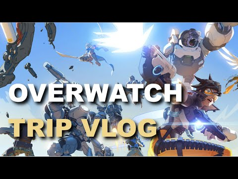 [Vlog] Overwatch Trip! Meeting Star and Jerma!