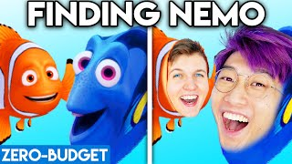 FINDING NEMO WITH ZERO BUDGET! (Finding Nemo & Finding Dory MOVIE PARODY)