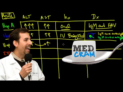 Video Liver Diseases Explained Clearly by MedCram.com