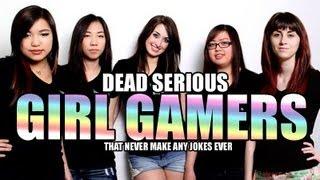 Serious Girl Gamers