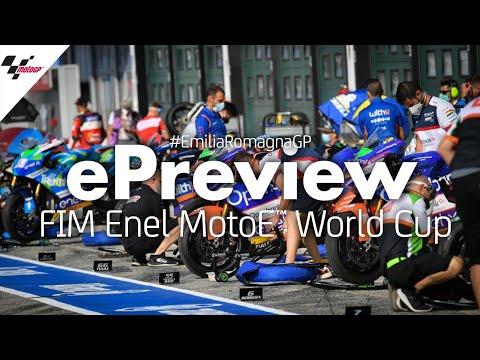 MotoE ミサノサーキットで行われるエミリア・ロマーニャGP。MotoEのプレビューハイライト動画