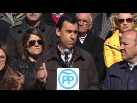 Maillo: Pedro Sánchez no va a recibir el apoyo del Partido Popular