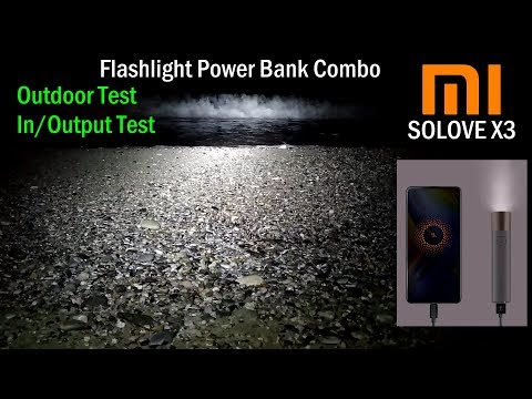 Xiaomi Flashlight Power Bank Combo - Review and Outdoor Test (In-depth)