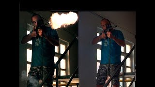 After effects tutorials Muzzle flash