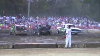 preview picture of video '2014 Suffolk Peanut Fest Demolition Derby HEAT #2'