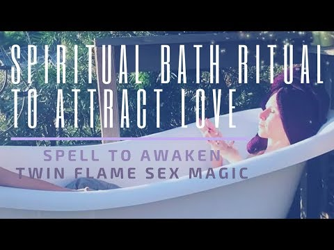 Download Twin Flame Bath Ritual To Attract Love | Spell To Awaken Soulmate Sex Magic | Dr. Amanda Noelle HD Mp4 3GP Video and MP3
