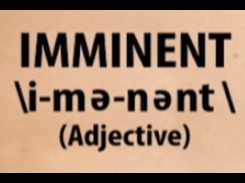 [UNTV]  Imminent | Word for the Day