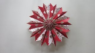 TUTORIAL - Simple & Easy to make Charming Hongbao Snowflakes 2 (10 pcs of hongbao)