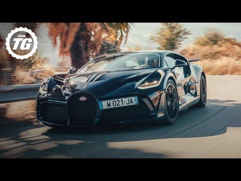 Driving the £5.4m Bugatti Divo | Top Gear