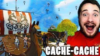 WTF CE CACHE-CACHE VIKING EN SERVEUR PRIVÉ SUR FORTNITE !!!