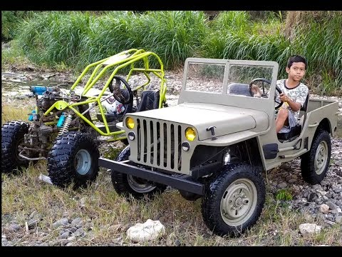 PART 2 MINI JEEP WILLYS 4X4 HOMEMADE