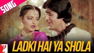 Ladki Hai Ya Shola | Silsila | Amitabh | Rekha | Kishore Kumar