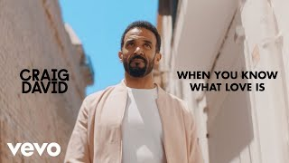 Craig David   When You Know What Love Is (Official Video)