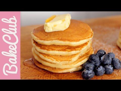 Fluffige Pancakes | BakeClub