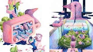 Amber Ma: Constructing Fairytale Worlds With Watercolor Illustrations