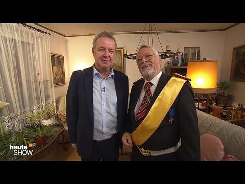 Carsten van Ryssen trifft den Reichskanzler Norbert Schittke - heute-show vom 02.12.2016 | ZDF