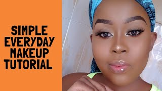 SIMPLE EVERYDAY MAKEUP TUTORIAL/ BEGINNER FRIENDLY