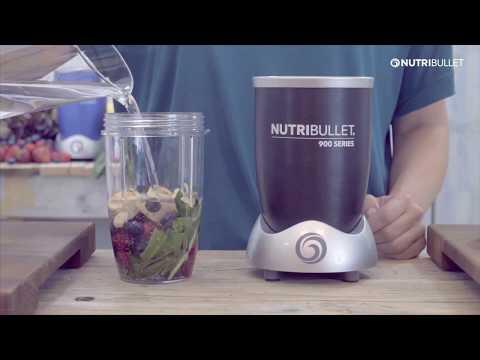 Extractor de nutrientes 900 W Nutribullet rojo metalizado