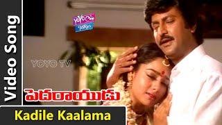 Kadile Kaalama Video Song   Pedarayudu Movie Songs   Mohan Babu, Soundarya   Koti   YOYO Cine Talkie