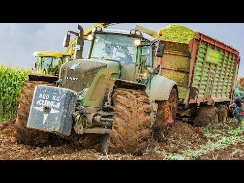 Maishäckseln | Fendt Traktoren | Lohnunternehmen Kumm Agrar | AgrartechnikHD