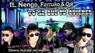 Video Yo Se Que Tu quieres de Falsetto y Sammy