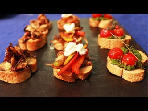 Bruschetta Platter — Quick Appetizer Recipe