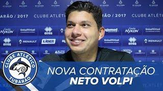[CONTRATAÇÕES] Goleiro Neto Volpi e Zagueiros Jailton e Canavesio | TV Tubarão