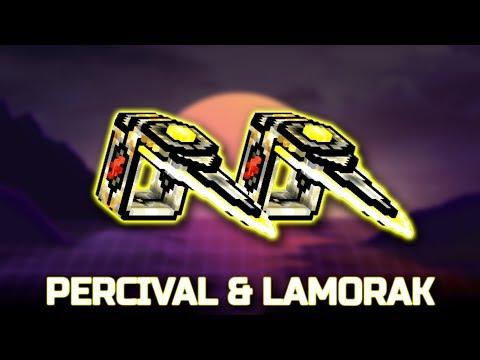 PERCIVAL & LAMORAK : Pixel Gun 3d : Clan weapon!