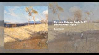 Romanian Christmas Carols, Sz. 57