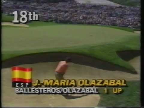 Ballesteros/Olazabal 1987 Ryder Cup Day 2 Foursomes