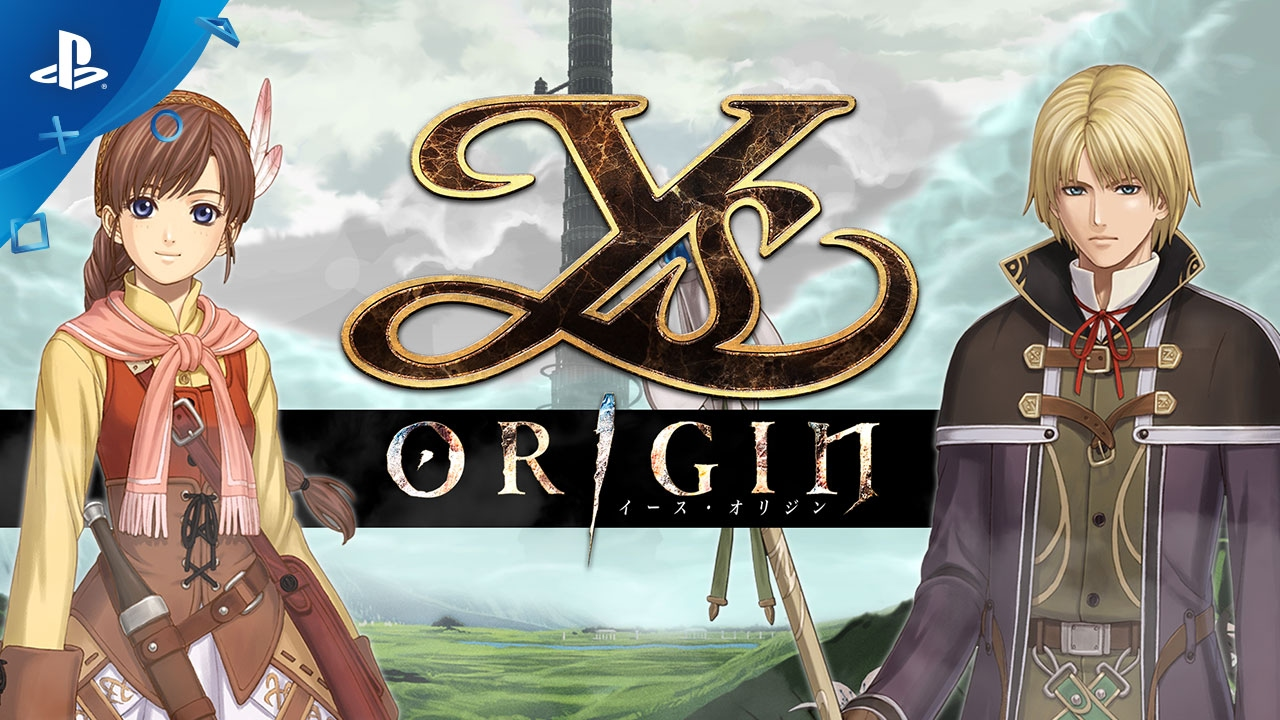 New Ys Origin Trailer Showcases Blistering Battle System