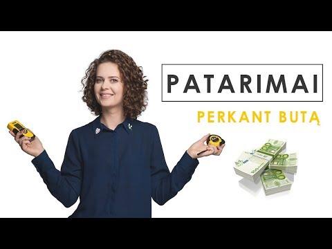 Užsidirbti pinigų naujam verslui
