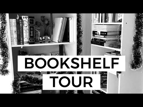BOOKSHELF TOUR: ESTANTE DE LIVROS PARA LER | Laura Brand