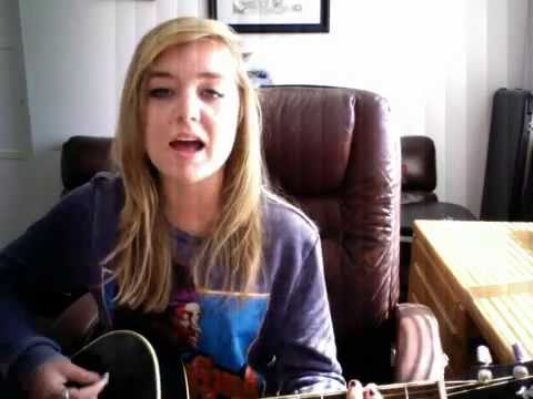 "Here is a video of me singing Daughtry's song ""We're Not Gonna Fall"" Enjoy!"